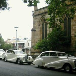 vintage wedding car package