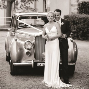 silver bentley wedding car for hire