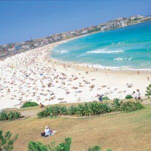 visit bondi beach sydney on accessible sydney sightseeing tour