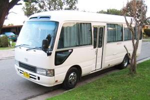 minibus for hire sydney