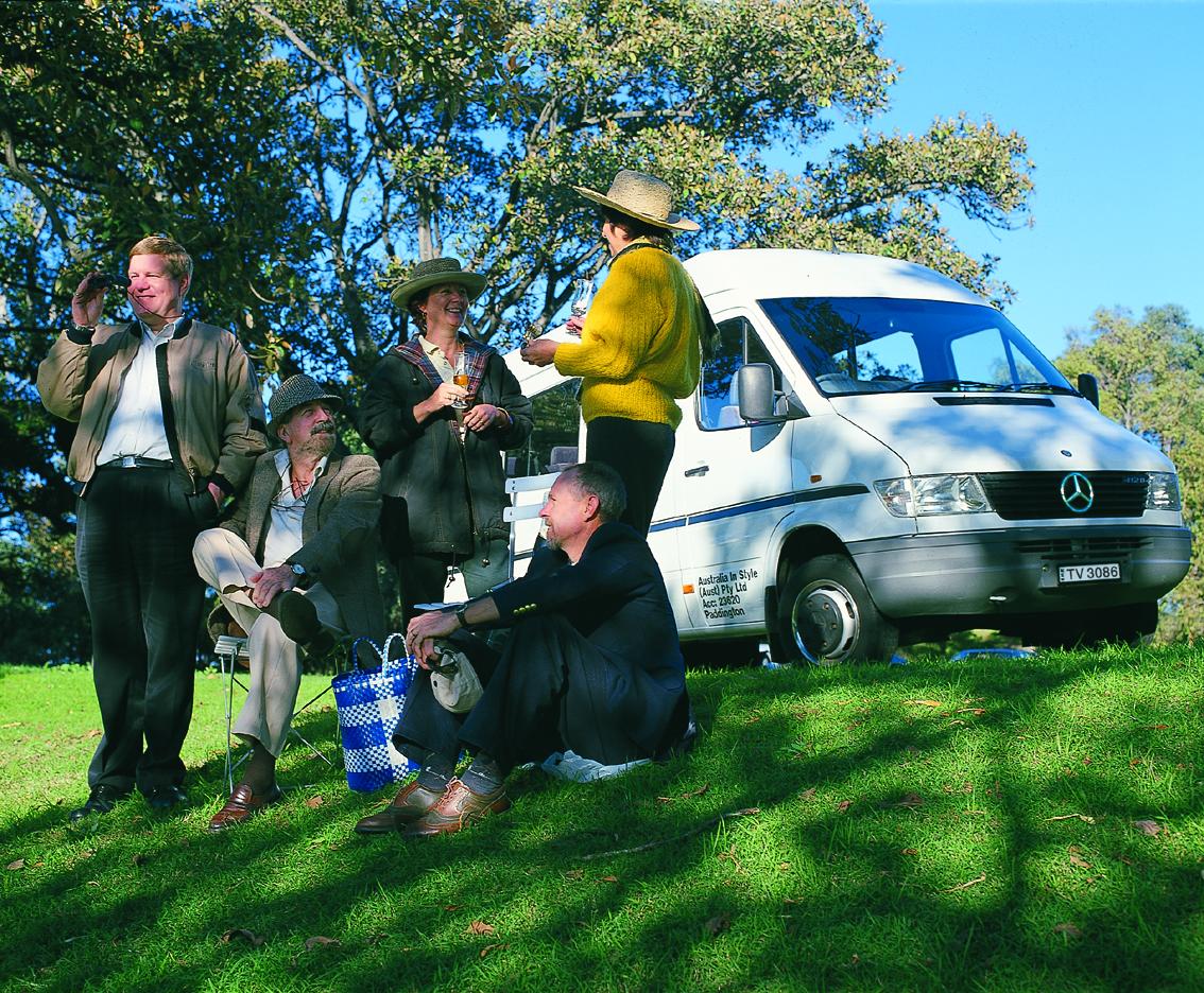 Sydney accessible minibus sightseeing