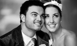 guy sebastian wedding supported by Australia In Style wedding cars for hire