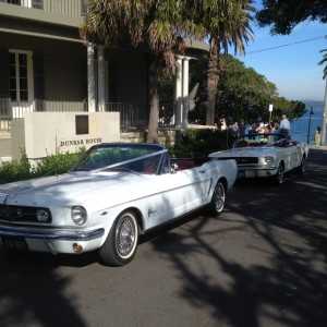 mustang wedding cars sydney