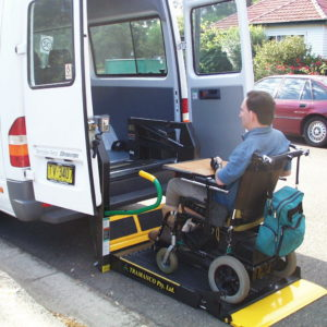 wheelchair accessible mini bus for hire sydney