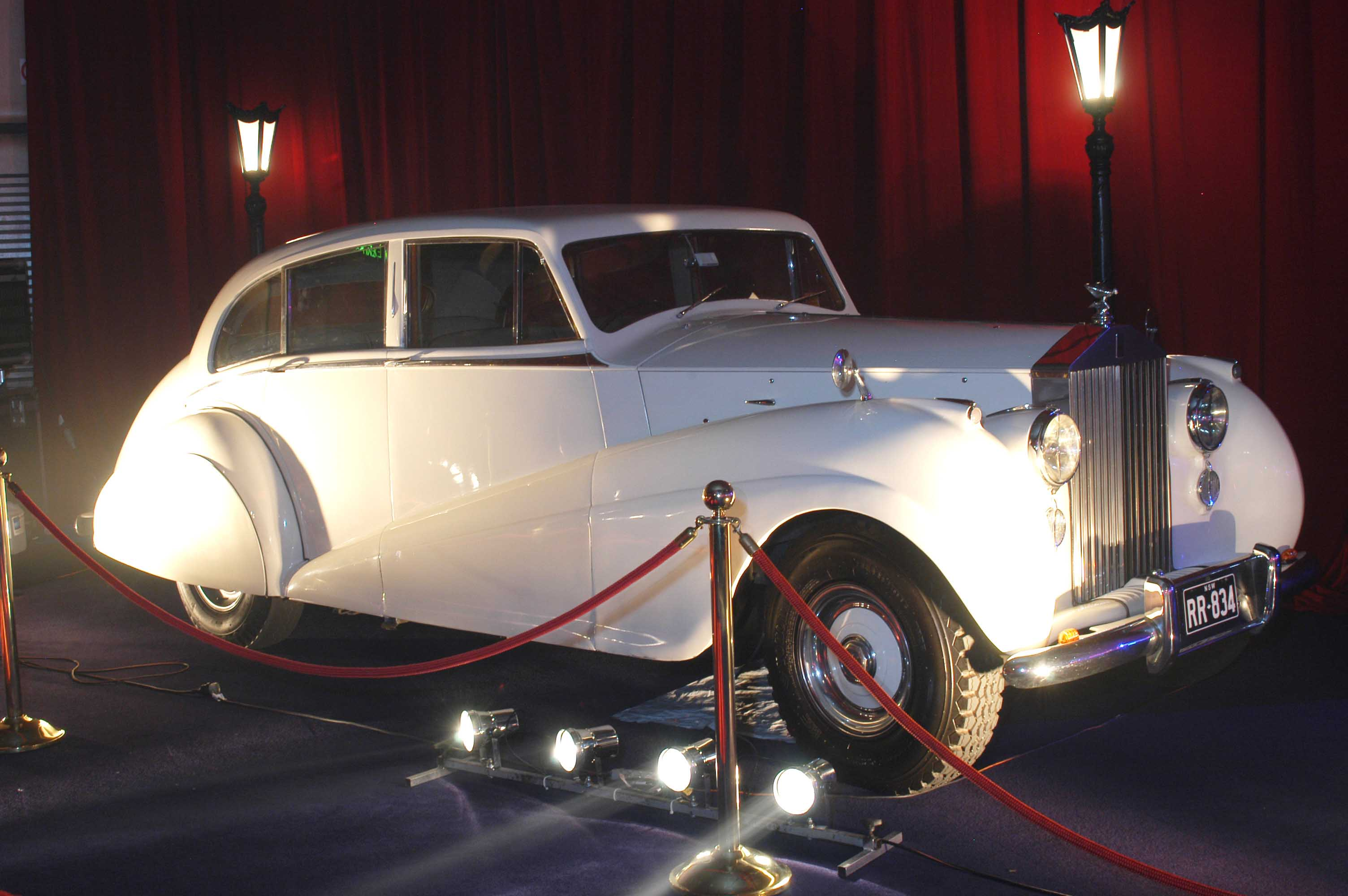 Vintage Rolls Royce Wedding Package Sydney