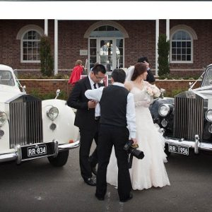 vintage rolls-royce wedding car package