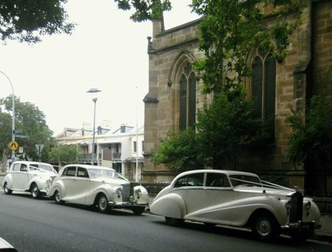 vintage wedding car package