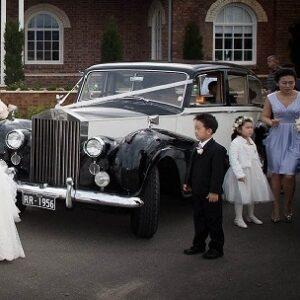 vintage rolls royce limousine