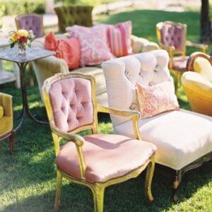 wedding ceremony seating idea @marthastewart