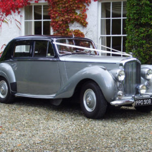 Bentley 2 tone silver classic