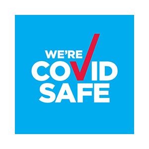 Covid safe travel logo