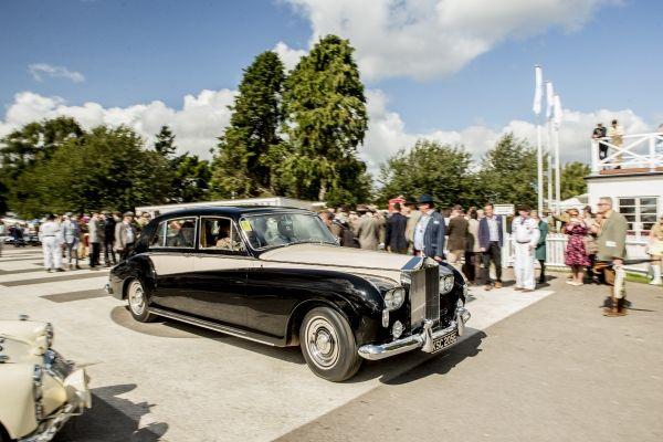 vintage rolls-royce limousine