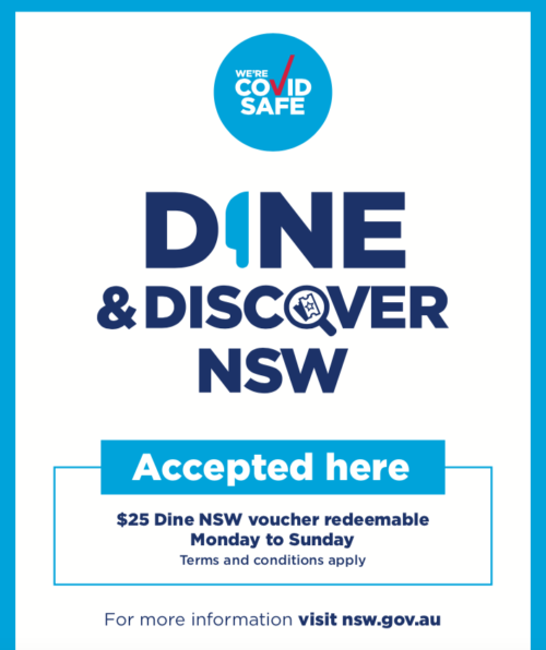 dine & discover nsw