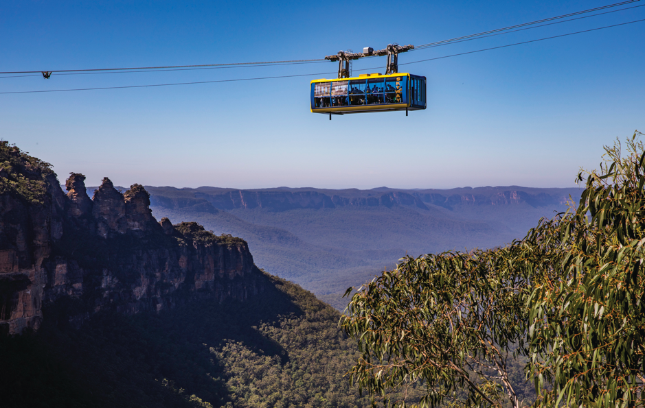 accessible blue mountains sydney cable car