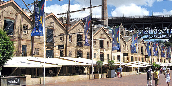 accessible Sydney - the Rocks